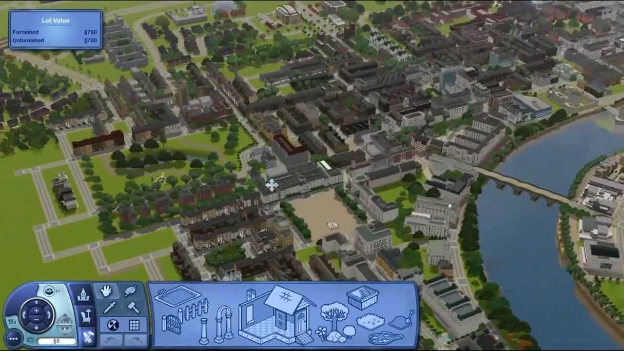 Sims 3 London Update Create a World 700 Lots Mega City YouTube