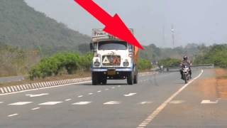 real ghost caught on camera at nh 10 india scary ghost video