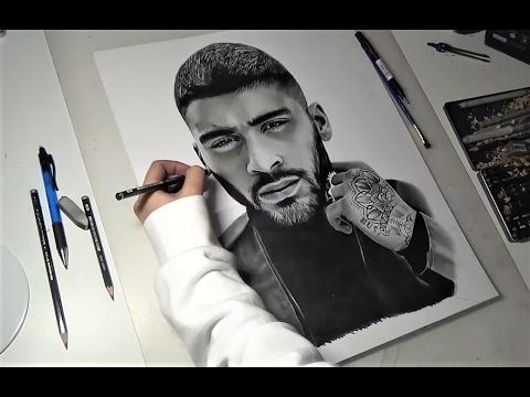 Zayn Malik Drawing Artbyoums Youtube