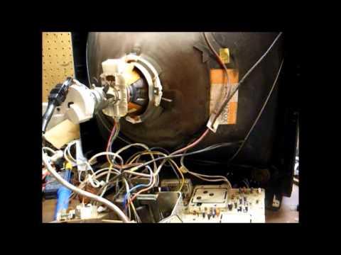 "Repair of a 1993 Magnavox 25"" color TV"