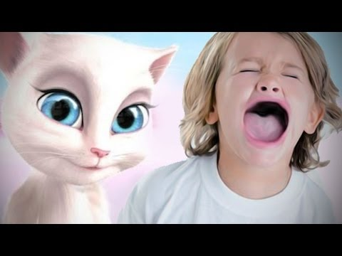 Thumbnail: GAME BANNED FROM KIDS? - Talking Angela