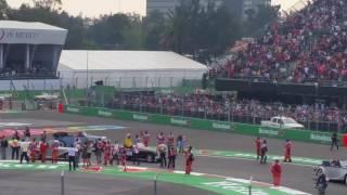 Desfile de pilotos F1 2016