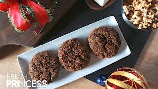 Ginger Molasses Cookies    Fresh P