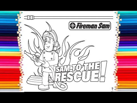 Fireman Sam Coloring Pages | 360x480