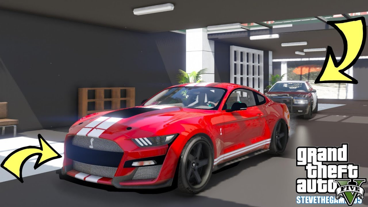 GTA 5 MOD - 2020 Ford Mustang Shelby GT500!!! (GTA 5 REAL ...