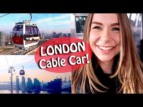Emirates Cable Car London Vlog - Greenwich Skyline