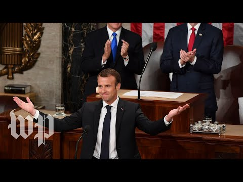 Macron made it clear: He's not Trump