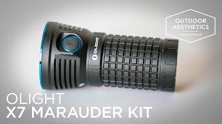 Test & Rezension: Olight X7 Marauder Kit - 9000 Lumen LED Taschenlampe