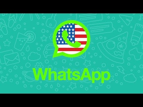 how to add american numbers to whatsapp