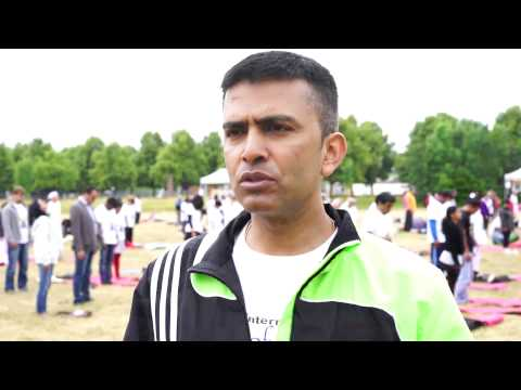 Yoga Day 2015 Interview