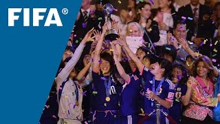 Japan girls win U-17 Women's World Cup