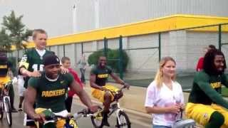 Green Bay Packers After First Day Of 2013 Training Camp!