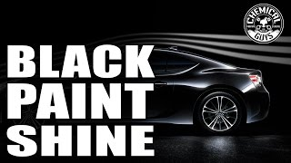 How To Make Your Black Paint Shine And Look Great - Chemical Guys Black Kit