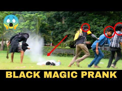 BLACK MAGIC PRANK || PRANK IN INDIA - MOST DANGEROUS PRANK EVER || MOUZ PRANK