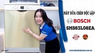 Review chi tiết máy rửa chén Bosch 12 Bộ SMS63L08EA Serie 6