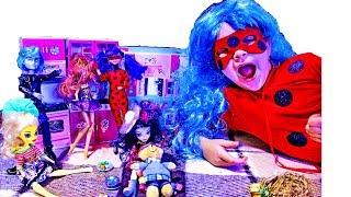 SHOPKINS Кухня для Шопкинсов ОБЗОР РАСПАКОВКА Игровой набор Видео с игрушками