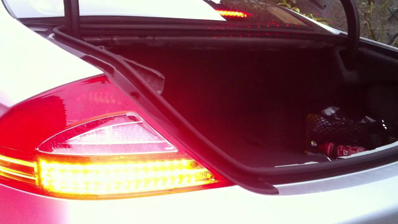 Mercedes Cls Led Tail Lights Upgrade Youtube