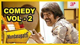 Mundasupatti Movie Comedy Scenes | Part 2 | Vishnu Vishal | Kaali Venkat | Ramdoss | Nandita
