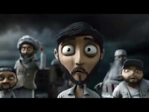 Animation: Chess-War in the Middle East | Schach-Krieg im Nahen Osten