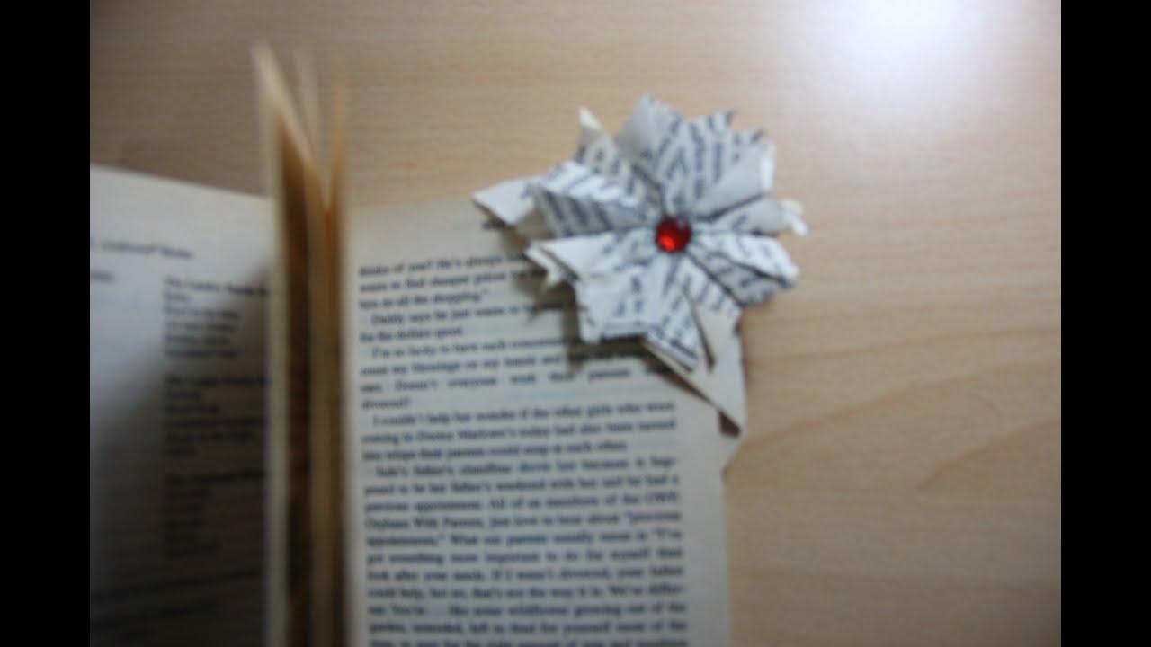 Diy easy origami corner bookmark youtube mightylinksfo