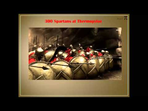 Greco-Persian Wars: The Battle of Thermopylae (in a nutshell)