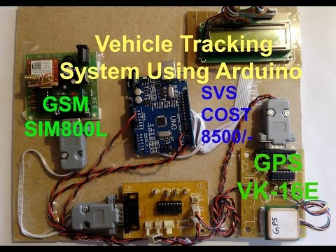 GPS and GSM based Vehicle Tracking System Using Arduino