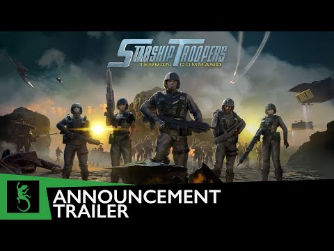 Анонсирована Starship Troopers: Terran Command