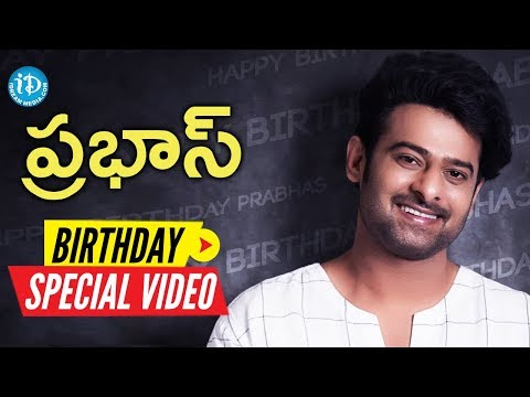 Young Rebel Star Prabhas Birthday Special Video    Something Special #51