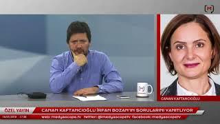 Canan Kaftancıoğlu İrfan Bozan'ın sorularını yanıtlıyor