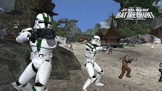 Star Wars Battlefront 2 Mods: Kashyyyk - Kachirho Beach   Galactic Assault Mod (Pre Alpha)!!!