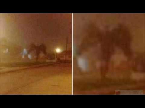 Demon Sighting Picture Goes Viral On Facebook