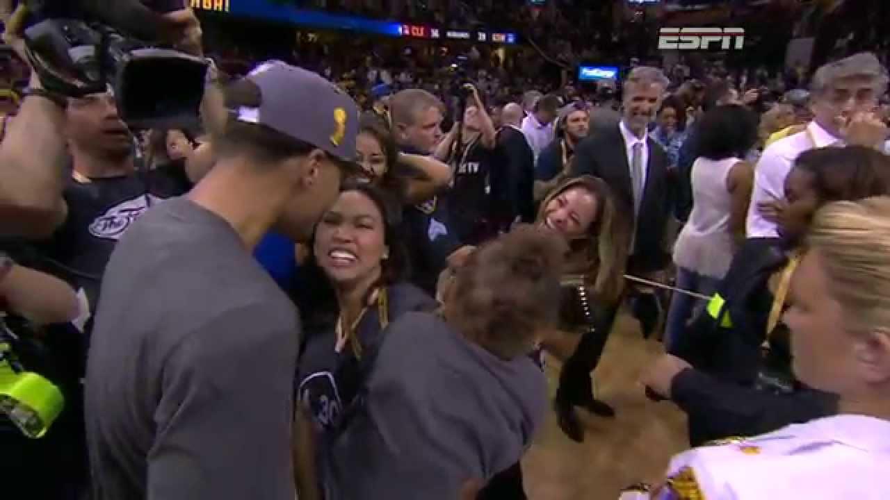 Riley Curry Celebrates...