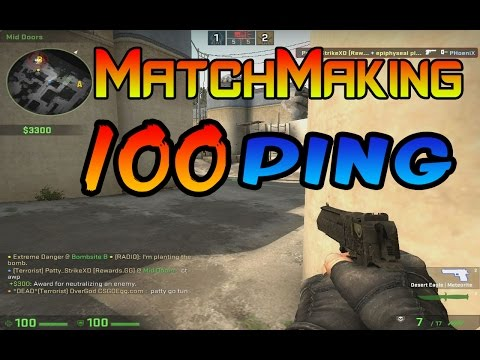 cs go high ping matchmaking only
