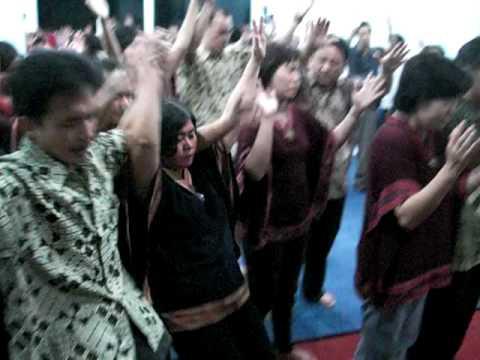Power Of Holy Spirit in Sheep Gate Ministry Kelapa Gading.         http://www.sheepgateministry.com