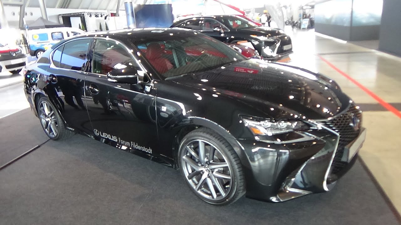 2016 Lexus GS 450h F Sport Exterior and Interior i Mobility
