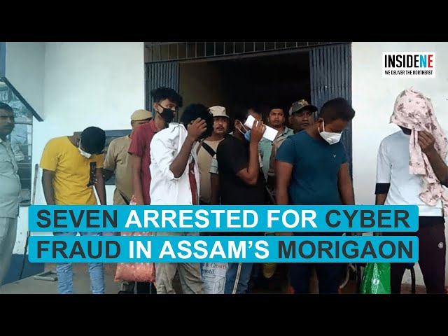 Seven arrested for cyber fraud in Assam's Morigaon; seized 107 sim cards