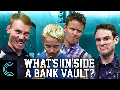What's Inside A Bank Vault?