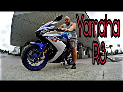 Que belleza - La Yamaha R3 - 2017 - 300cc