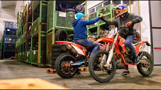 Moto Hooligans - KTM SMR 450 - EXC 125 on the Vee Rubber Company