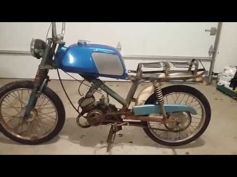 Peugeot BB3K Super Moped - 49cc Engine 3 Speed Trans - Shifty Fifty