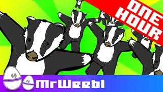 Badger Badger Badger | 1 Hour | Weebl