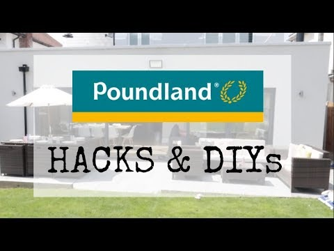 POUNDLAND HACKS & DIYs | DECORATE YOUR PATIO ON A BUDGET | KERRY WHELPDALE