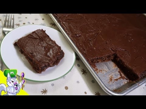 Texas Sheet Cake Recipe | Chocolate Sheet Cake
