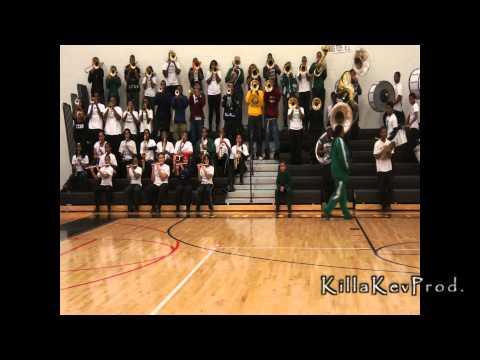 Cass Tech High School Alumni Band - Black & Blues - 2012