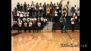 Cass Tech High School Alumni Band - Black & Blues - 2012