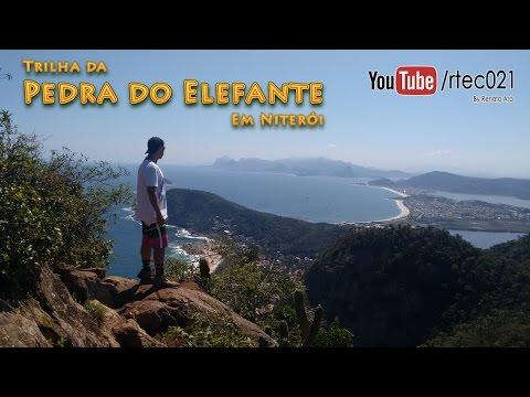 Trilha da Pedra do Elefante em Niterói !!!