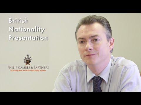 British Nationality Presentation with Philip Gamble