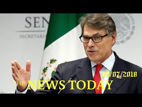 U.S. Energy Secretary Perry Unsure If Trump's Views On Tariffs Are Final | News Today | 03/07/2...