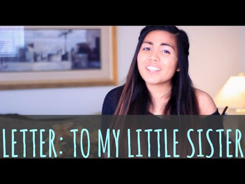a letter to my little sister letter to my 11789 | hqdefault