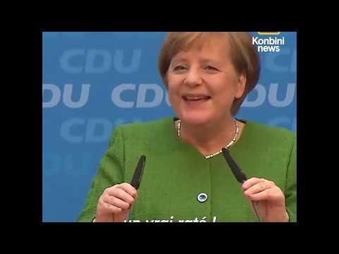 Quand Angela Merkel oublie une ligne de son CV